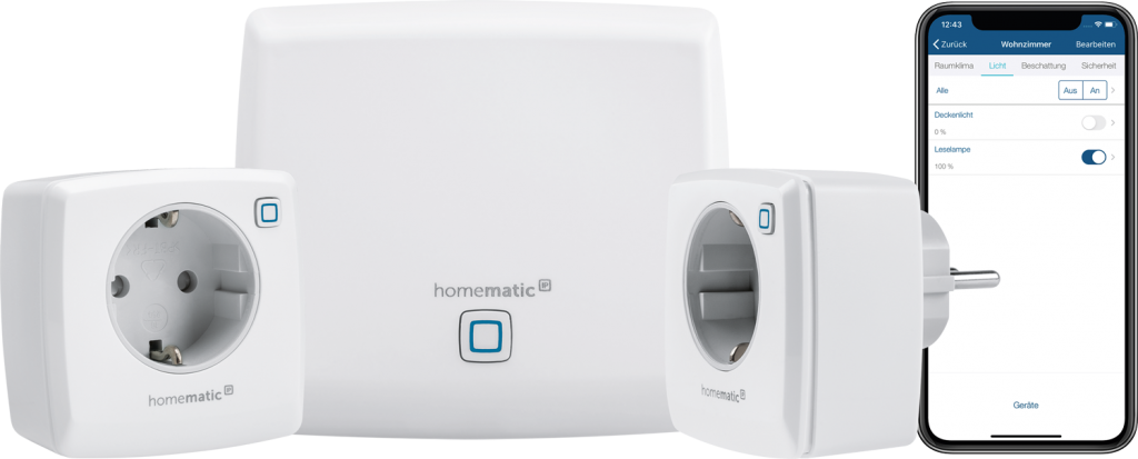 Homematic IP Starter-Set-Licht-151671A0