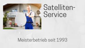 Sat-Service Reparaturen und Justage