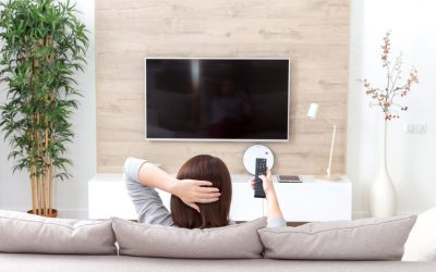 Montage TV-Wandhalterung